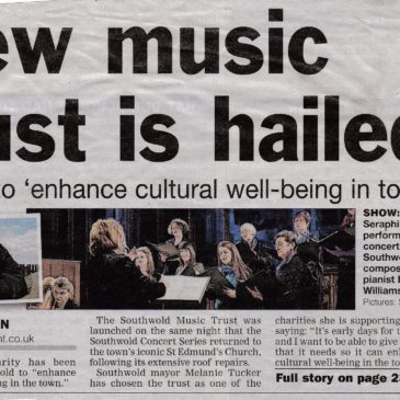 Trust Launch is front page news!
